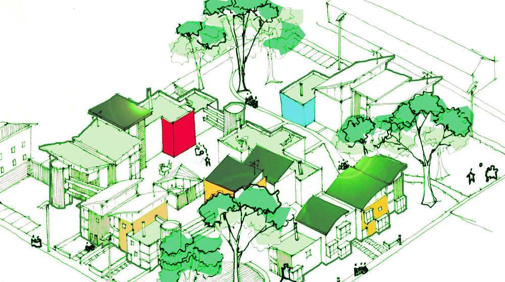 cohousing - kalmak vivienda esencial bioclimática