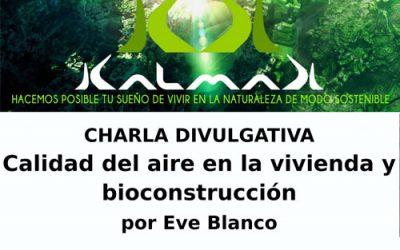Charla «Calidad del aire en la vivienda y bioconstrucción» en Gijón
