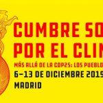 Banner de cumbre social clima - Kalmak